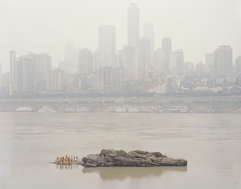 Between the mountains and water, Zhang Kechun