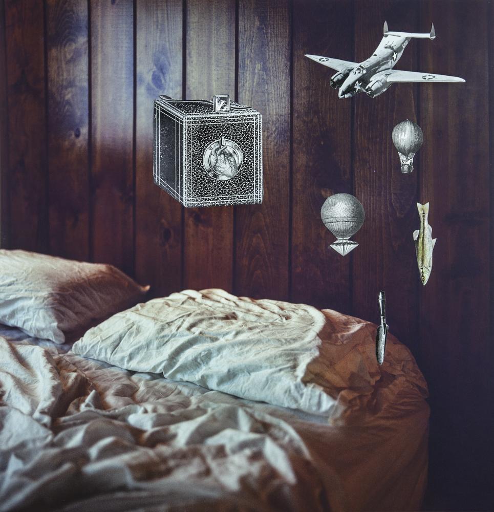 In the bedroom, Javiera Estrada